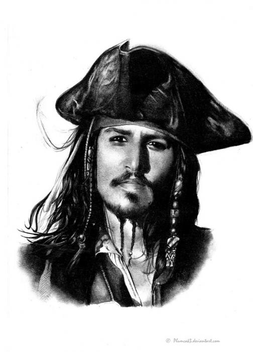 Johnny Depp par Guinn3ss
